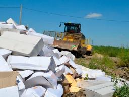 В Уфе уничтожили более 20 килограммов санкционных сыров