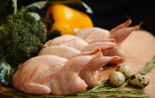 Мясо и яйца перепелов
